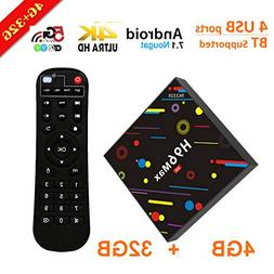 Android 7.1 RK3328 4K Smart TV Box Support 2.4G/5G Dual Wif