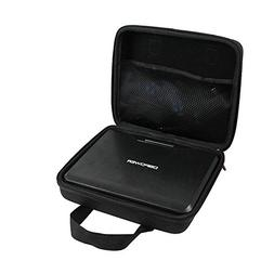Hard EVA Travel PU Case for DBPOWER 9.5-Inch Portable DVD Pl