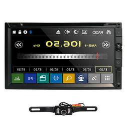 "Sony Lens Double 2Din 7""Car Stereo Radio DVD Player iPod Blu"