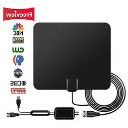 HDTV Antenna Indoor,TV Antenna with Switch Console Amplifier