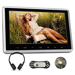 "10.1"" Headrest DVD Player for Car & Home Use Support HDMI In"