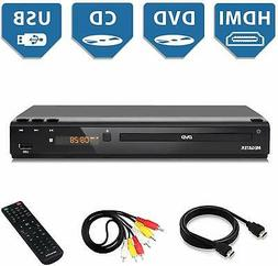 Home DVD Player for TV, HDMI Output Full HD 1080p Upscaling,