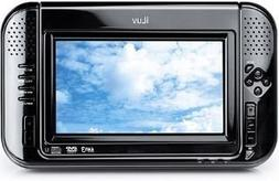 iLuv I1055-BLK 7-Inch Portable Tablet DVD Player with iPod V