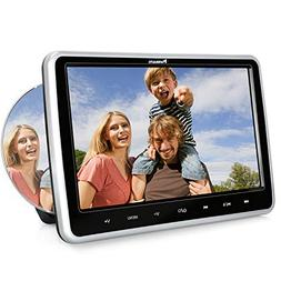 "Inhalation Headrest DVD Player for Car & Home Use, 10.1"" Car"