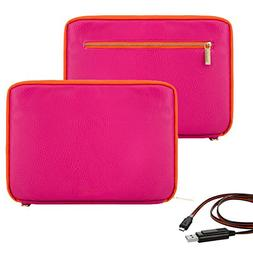 """Vangoddy Irista Series 10"""" Faux Leather Compact Tablet Sleev"""