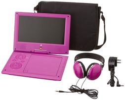 Ematic Portable DVD Player with JBL Audio, 9-inch Swivel Scr