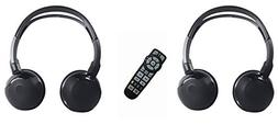 Wireless Headphones and Remote For Jeep Grand Cherokee 2013