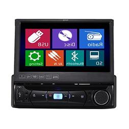 TUVVA KSD7843B in-Dash Car Multimedia Receiver 1-DIN 7-inch