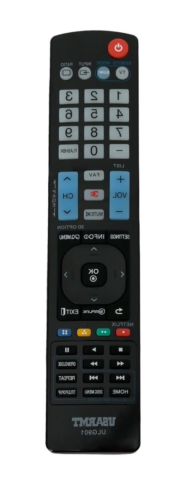 1 × ULG901 Remote Control for LG TV Blu-ray DISC DVD Player