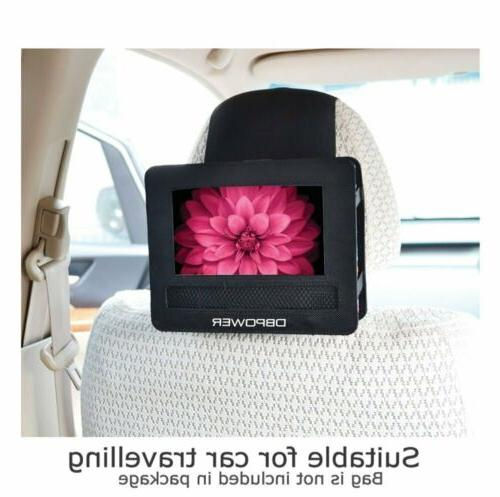 DBPOWER Player with Rechargeable Swivel Screen,