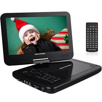 10 5 portable dvd player with swivel