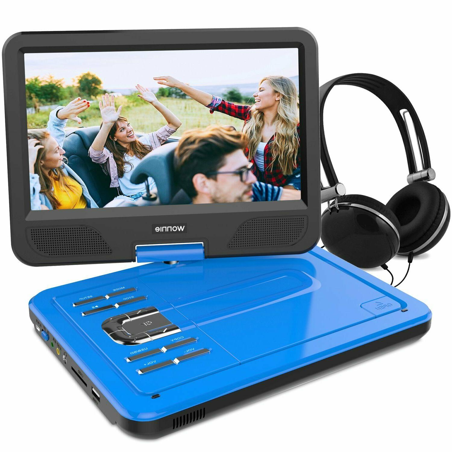 12 5 inch portable dvd player 4hrs