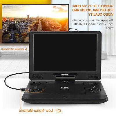 """12"""" Portable Blu-Ray DVD Player with HDMI Dolby Sound +"""