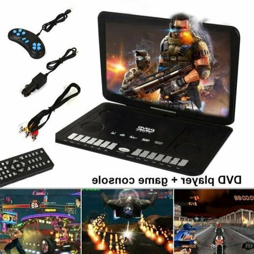 "13.9"" Portable DVD CD Player Game HD 270° Screen Car Region"