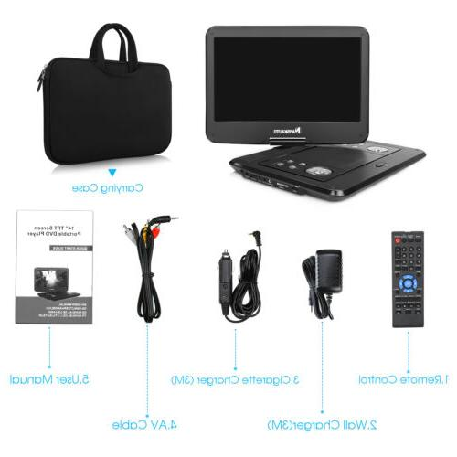 DVD Swivel Screen SD+Carry Case