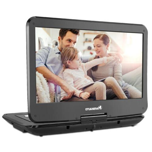 14 tft portable car dvd player 1366