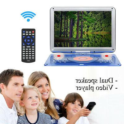 16'' Dual Player 16:9 LCD Widescreen Card Reader