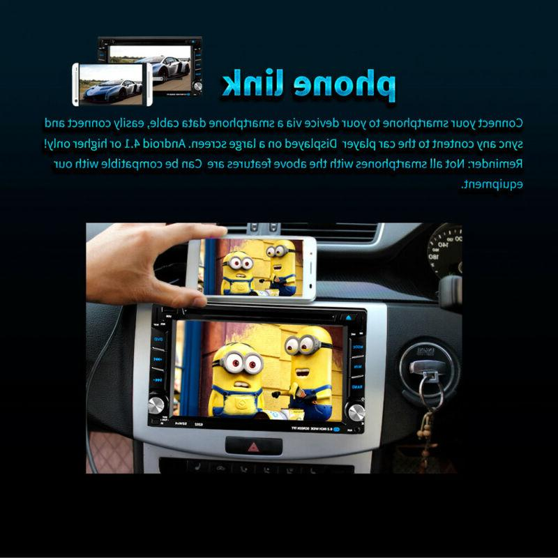 """6.2"""" Stereo DVD Player Navigation Double 2"""