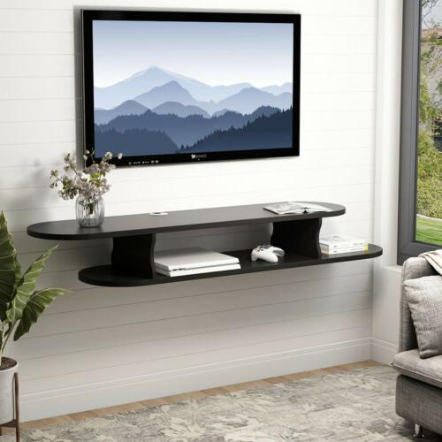 Functional Floating TV Shelf for Xbox One DVD Players Wall M