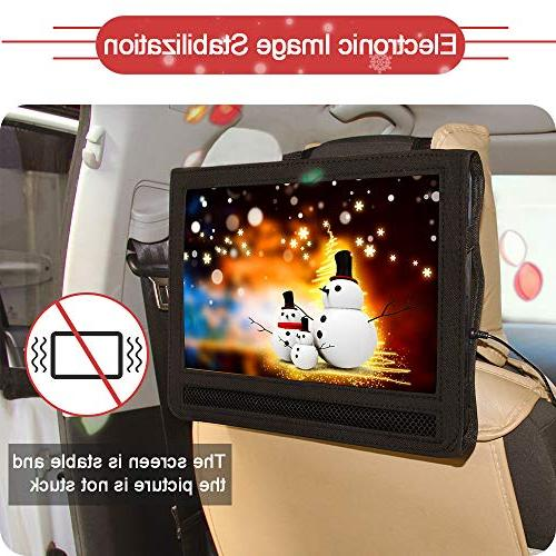 DR. Professional Hours Screen Portable Player With Rechargeable Battery And 5.9'/1.8 Car And