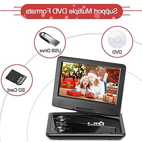 DR. Professional Hours 9.5 Swivel Screen With Battery And Card 5.9'/1.8 And Battery Adapter