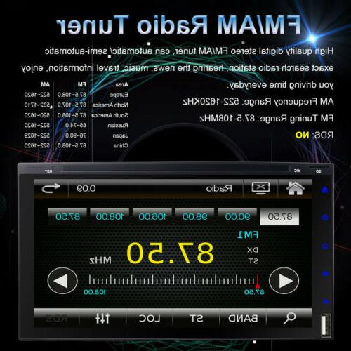 """7"""" Double 2 Din Car DVD with"""