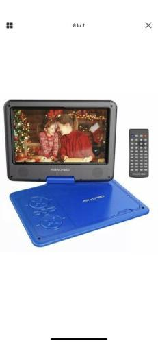 DBPOWER 9.5-Inch Portable DVD Player&Rechargeable Battery SD