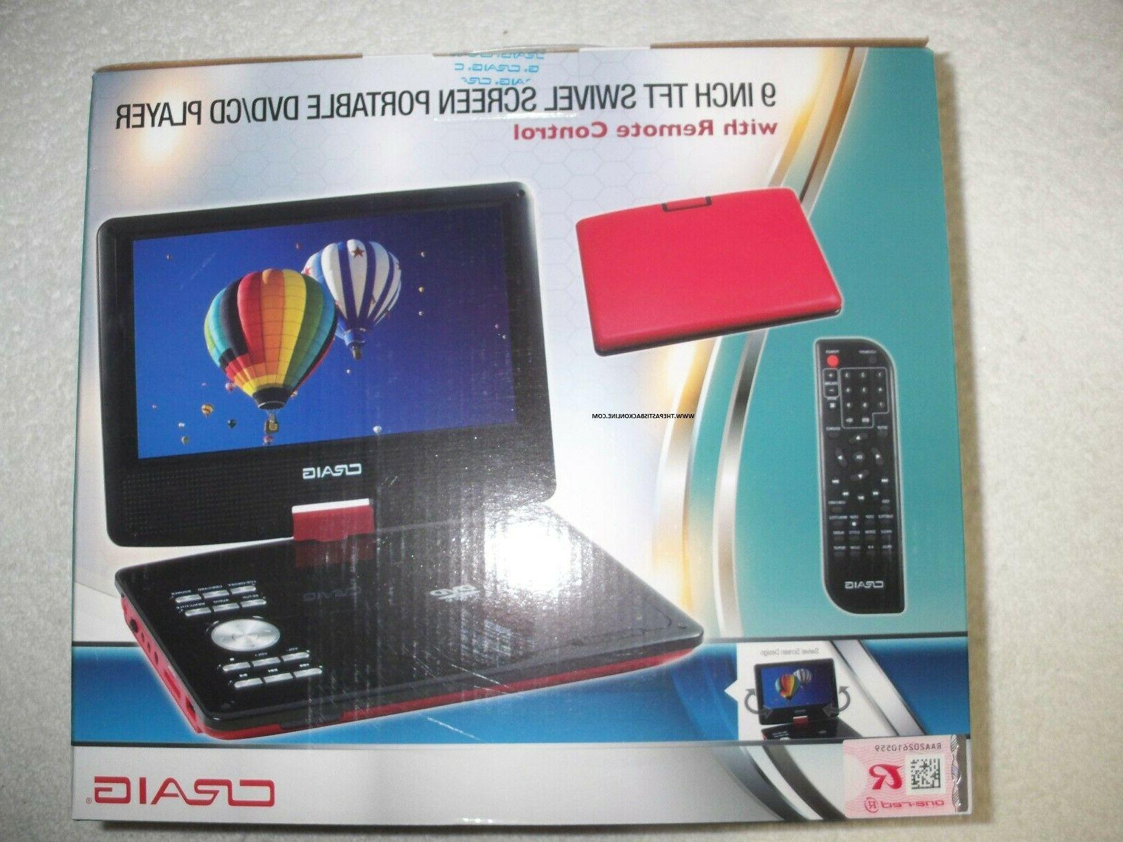9 ctft713 180 swivelscreen portable dvd player