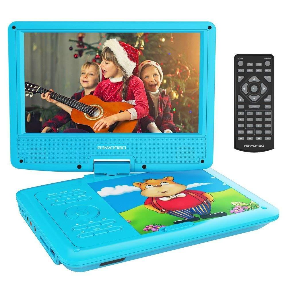 9 portable dvd player with rechargeable battery