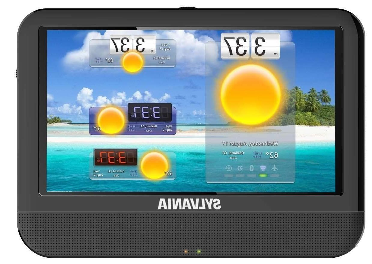 "Brand New Sylvania SLTDVD9220 9"" Android Tablet Integrated P"