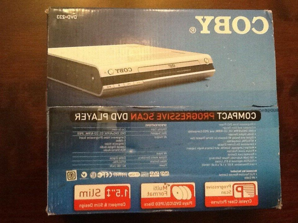 Coby DVD-223 Scan DVD Player