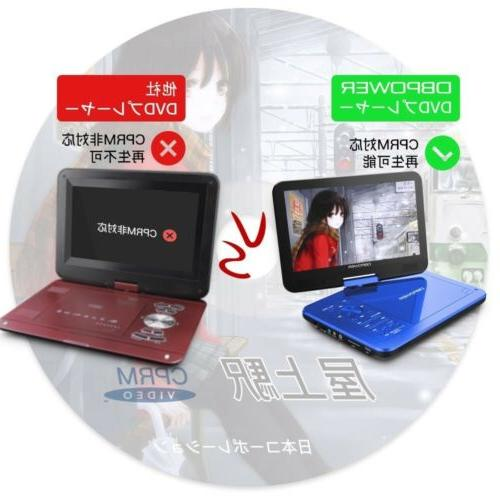 DBPOWER Portable DVD Player 10 inch MK-101 Corresponding Blue Tracking