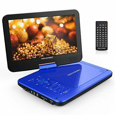 DBPOWER Portable DVD Player 10 inch MK-101 CPRM Correspondin