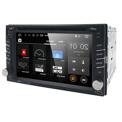 HIZPO Android Core Universal GPS Car Stereo Radio Player