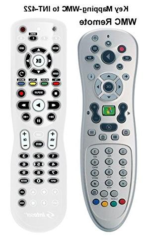 Inteset 4-in-1 Universal Backlit IR Learning Remote