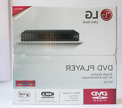 LG DP132 Multi-Format DVD Player with USB Port & Multi-Forma
