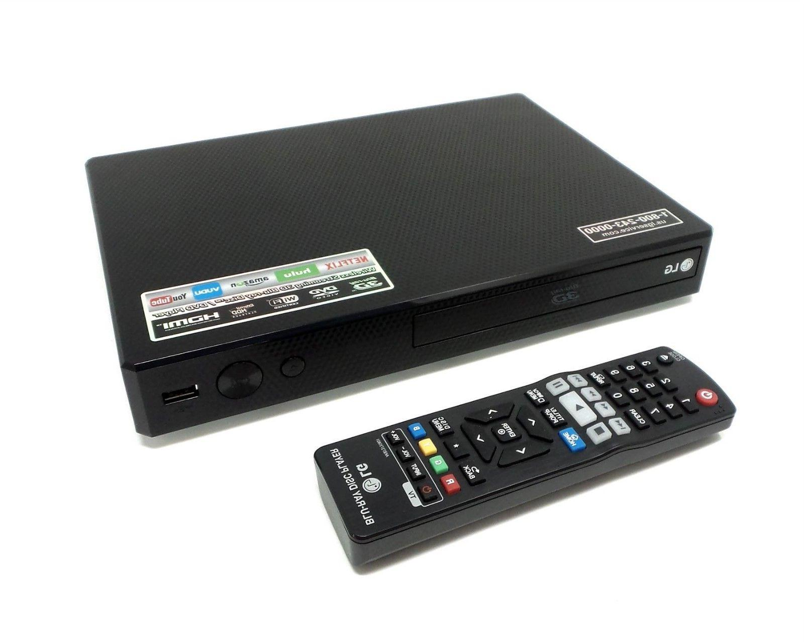 LG Network 3D / Blue-Ray Disk / DVD Player  BP550