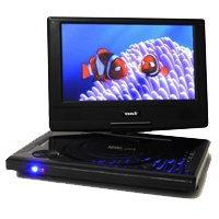 Orei DVD-P901 9-Inch Swivel Screen Multi Region Free Portabl