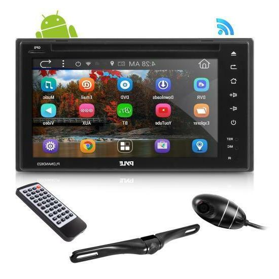 Pyle Android In-Dash Stereo Receiver & Dual Camera System GP