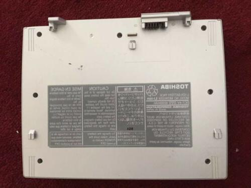 TOSHIBA battery pack MEDB02SX for portable DVD player SD-P20