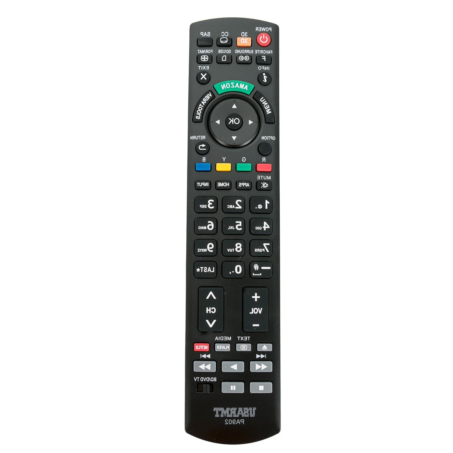 Universal Remote For Panasonic LCD LED TV N2QAYB000100 N2QAY