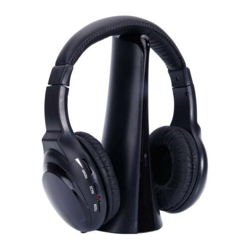 Wireless HI-FI Stereo Headphones Headset For MP3 Player TV C