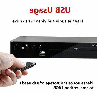 All Multi DVD for TV, Player with HDMI