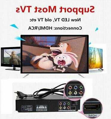 All Multi Free LONPOO CD Player HDMI
