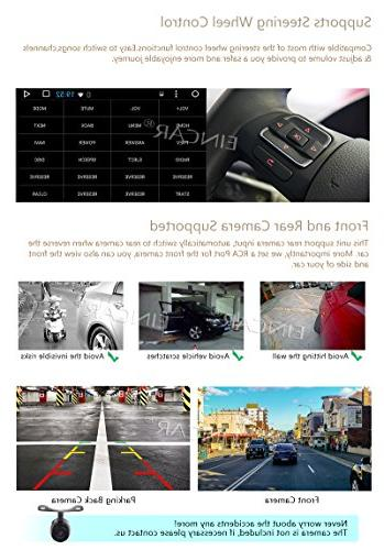 "10.1"" 7.1 Quad Core Din Car Player in Navigation Receiver Support Subwoofer+Free Reverse"