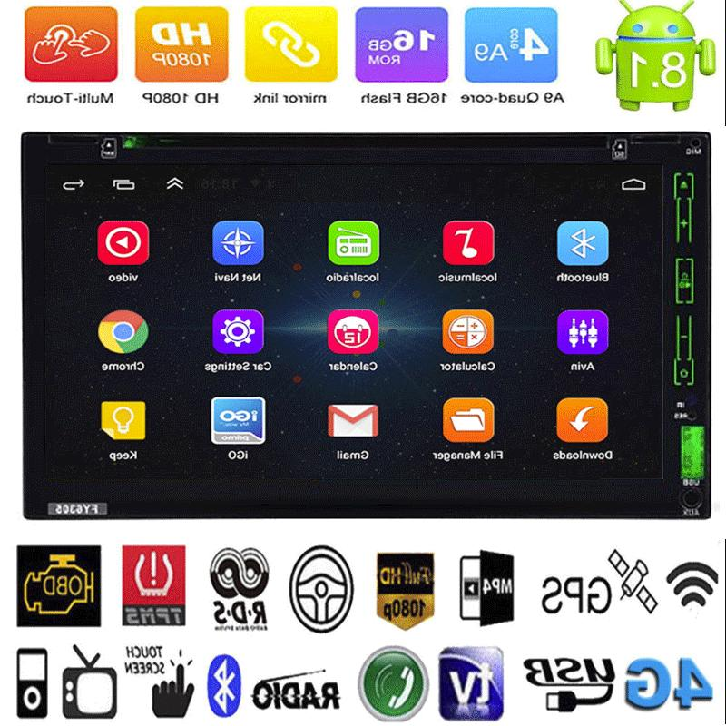 """Android8.1 2Din 7"""" HD Navi Player DVD"""