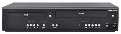 corp dv220fx5 dual deck dvd and vhs