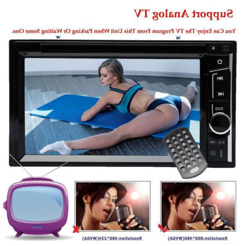 Car Double 2 Din DVD Player GPS