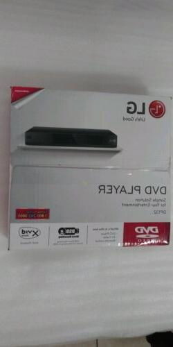 LG DP132 DVD player with flexible USB and DivX playback - Bl