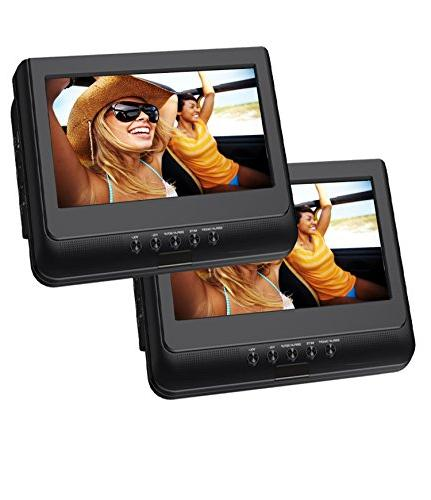 Sylvania 10-Inch Portable Player with USB Remote Control and Mount